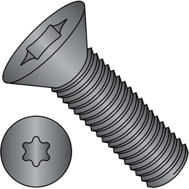 6 Lobe Flat Head Machine Screws
