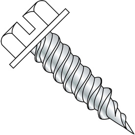 Slotted Flat Head Self Piercing Screw