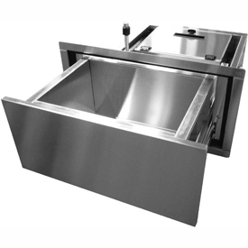 UL® Approved Bullet Resistant Thru-Wall Drawers