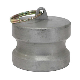 "3"" Aluminum Camlock Fitting - Dust Plug Thread"