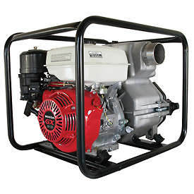 "3"" Trash Pump - 8HP, 286 GPM, Honda GX Engine"