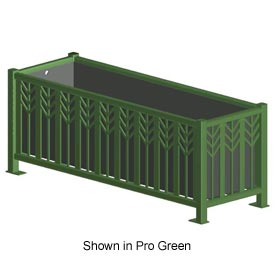 "Spencer 63"" x 21"" Rectangular Outdoor Planter Bronze"