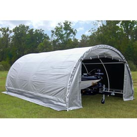 Heavy Duty Garage 20'L x 10'W - Silver