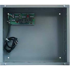 RIB® Enclosed UPS Interface Board PSH2C2RB10-L, 10A Switch/Breaker, 120VAC, Large Housing