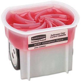 Rubbermaid Sebreeze® Gel Fragrance Cassette Cinnamon Spice, .1 Oz. Gel 6/Case - RCP9C9701