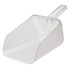 Rubbermaid Commercial FG9F7600CLR - Bouncer® Contour Scoop, 64 Oz. Capacity - Pkg Qty 6