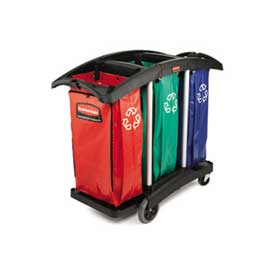 Rubbermaid® Triple Capacity Cleaning Cart