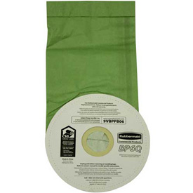 Rubbermaid® Disposable Vacuum Bags For 1868433, 10/Pack - RCP9VBPPB06