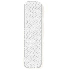 "Rubbermaid® 18"" Microfiber Dust Pad, White 12/Pack - RCPQ412WHCT"