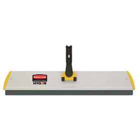 "Rubbermaid® HYGEN 24"" x 4-1/2"" Quick Connect Squeegee Frame, Aluminum - RCPQ570 - Pkg Qty 6"