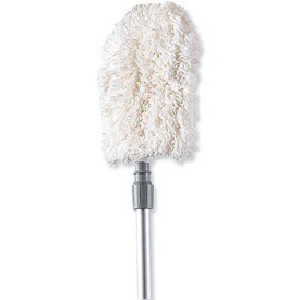 Rubbermaid® Dust Mitt Off Floor Dusting Tool, White - RCPT499 - Pkg Qty 12
