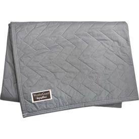 "RefrigiWear® 149BL Moving Blanket - Gray - 72"" x 80"" - Pkg Qty 12"