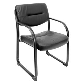 Crusoe Vinyl & Metal Frame Side Chair
