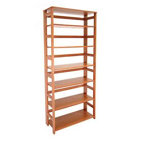 67x30 Flip Flop Bookcase - Cherry