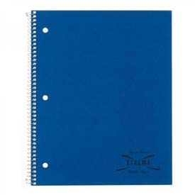 Xtreme White 3-Subject Wirebound Notebook, College Ruled, 8-7/8 x 11, 150 Sheets
