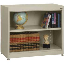 "Radius Edge Bookcase - Putty, 36""W x 18""D x 30""H"