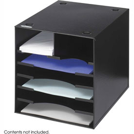Steel Desktop Organizer - 7 Compartment