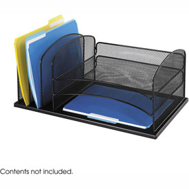 Onyx™ 3 Horizontal/3 Upright Sections Desktop Organizer
