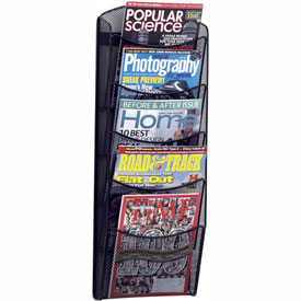 5 Pocket Onyx Magazine Rack
