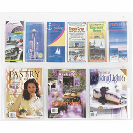 See-Thru 3 Magazine and 6 Pamphlet Display