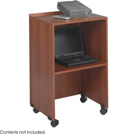 Podium / Lectern Base / Media Cart - Cherry