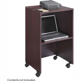 Podium / Lectern Base / Media Cart - Mahogany