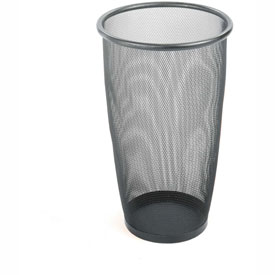 Mesh Large Round Wastebasket (Qty. 3) - 9 Gallon