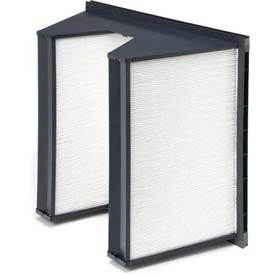 "Purolator® 5360867065 SERVA-CELL® Rigid Box Filter, Plastic 24""W x 24""H x 12""D"
