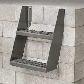 Relius Solutions Steel Wall-Mount Steps - 2 Steps