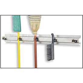 Ex-Cell Stainless Steel Cleaning Tool Organizer - 48 X 3 X 4&Quot;