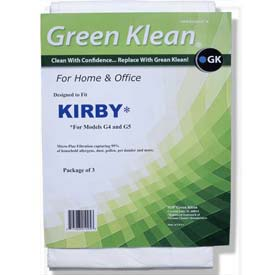 Kirby - G4 And G5 Models Replacement Vacuum Bags - GKH-Kir M