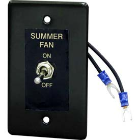 Berko® Remote Summer-Winter Fan Switch HUHAARFS1 for Horizontal/Downflow Unit Heater