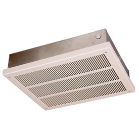 Berko® Fan Forced Heavy-Duty Ceiling Mounted Heater QFF4008, 4000/2000W at 208V