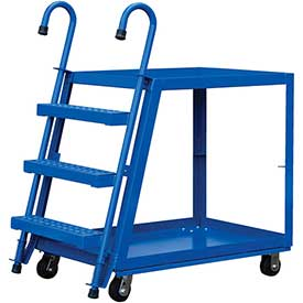 Vestil 2 Shelf Steel Stockpicker Truck SPS2-2236