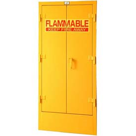 Strong Hold® Flammable Drum Storage Cabinet 110.5DSC - 58 x 30 x 72