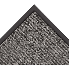 "NoTrax Estes 3/8"" Thick Entrance Floor Mat, 4' x 6' Charcoal"