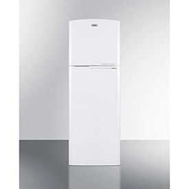 "Summit FF946W - Refrigerator-Top Freezer, Frost-Free, White, 8.8 Cu. Ft., 22""W x 64.75""H x 26""D"