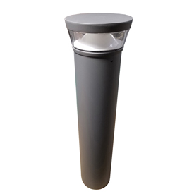 "Tapco® 115318 Decorative LED Walkway Bollard, 7"" x 7"" x 41-3/8"""