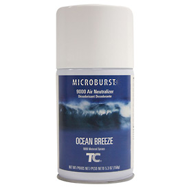 Rubbermaid® Microburst 9000 Aerosol Refill - Ocean Breeze - FG4012471 - Pkg Qty 40