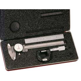 Starrett 65122 S909Z Basic Precision Measuring Tool Set