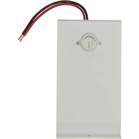 TPI Single Pole Unit Mount Thermostat For Hydronic-Architectural Baseboard Heater 3900T1, White