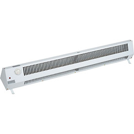 TPI Portable Baseboard Plug-In Heater 483TM - 1500W 120V 1 PH