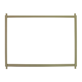 """TPI Cabinet Heater Recess Trim Frame For 33""""W Models TF-33"""