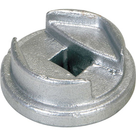 "Vestil Drum Bung Socket BUNG-S - Zinc-Plated Cast Steel - 3/4"" Drive Size"