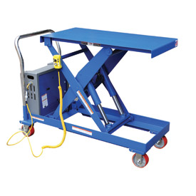 Vestil DC Power Hydraulic Scissor Cart CART-2000-DC - Single