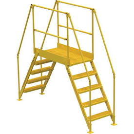 "5 Step Cross-Over Ladder - 91-1/2""L"