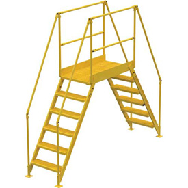 "6 Step Cross-Over Ladder - 128""L"