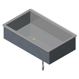 Non Refrigerated Cold Pan 1 Pan Drop-In