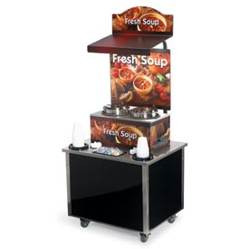 Cayenne® - Twin Well 7 Qt. Soup Merchandisers - Kiosks Country Kitchen