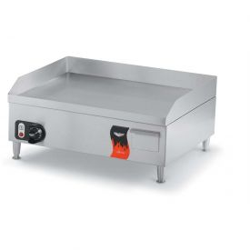 "Vollrath, Cayenne 24"" Flat Top Electric Griddle, 40716, 13.6 Amps, 3000 Watts"